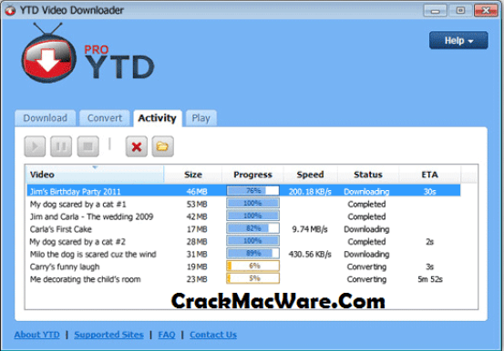 YTD Video Downloader Pro Serial Key