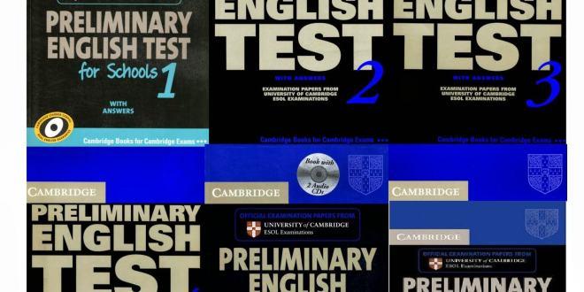 Cambridge English Preliminary (PET) trọn bộ 8 quyển