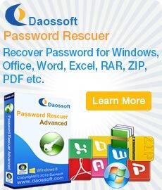 daossoft zip password rescure crack