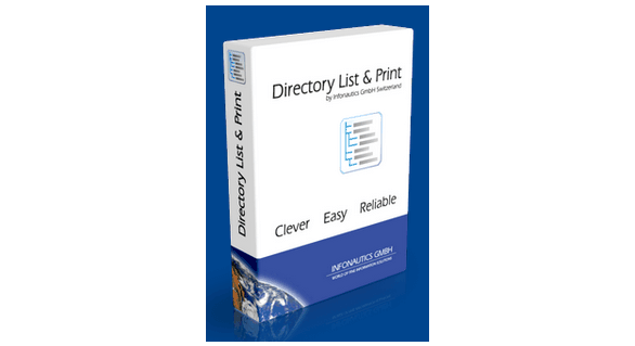 Directory List and; Print Pro crack