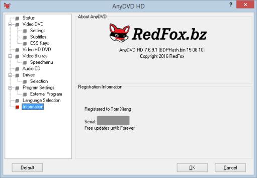 AnyDVD HD 8.5.3.0 Crack + Keygen 2021 Full Free Download