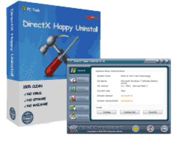 DirectX Happy Uninstall 6.95 Crack With Serial Code Full Version [2021]