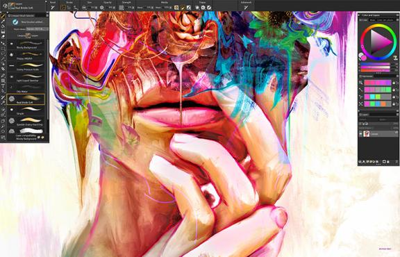 Corel Painter 2021 21.0.0.0 Crack With Serial Number Free Download