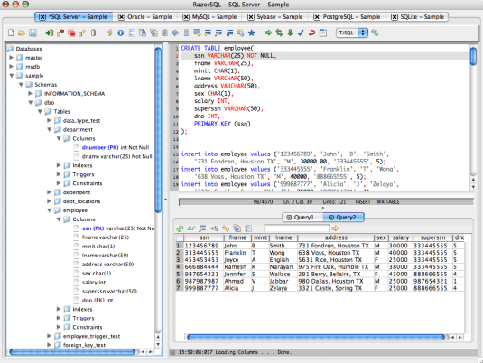 RazorSQL 9.4.0 Crack + Activation Key Free Download (2021)