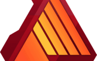 "Affinity Designer is a vector graphics editor developed by Serif for macOS, iPadOS, and Microsoft Windows. It is part of the ""Affinity trinity"" alongside Affinity Photo and Affinity Publisher"