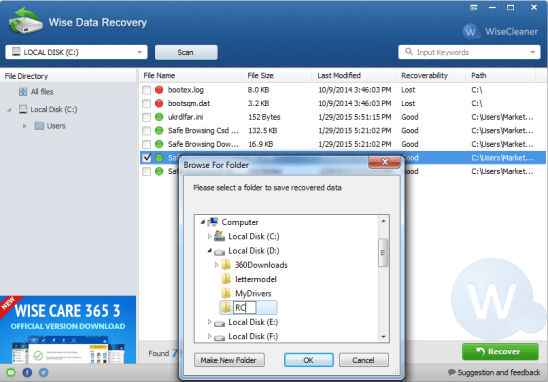 Wise Data Recovery 4.11 Crack + Serial Key donwload