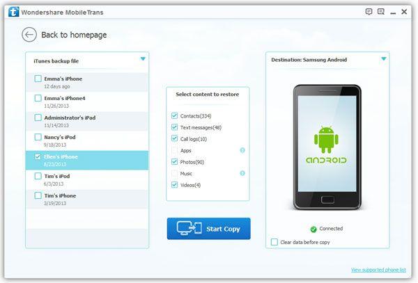 Wondershare MobileTrans 8.1.0 Crack + Registration Code Full Latest