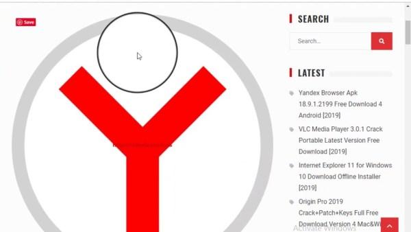 Yandex Browser Apk 18.9.1.2199 download