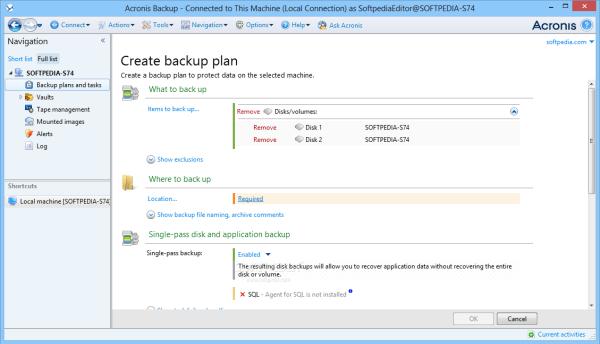 Acronis Backup Advanced 12.5.8850 Crack + Serial Key ( Activator )