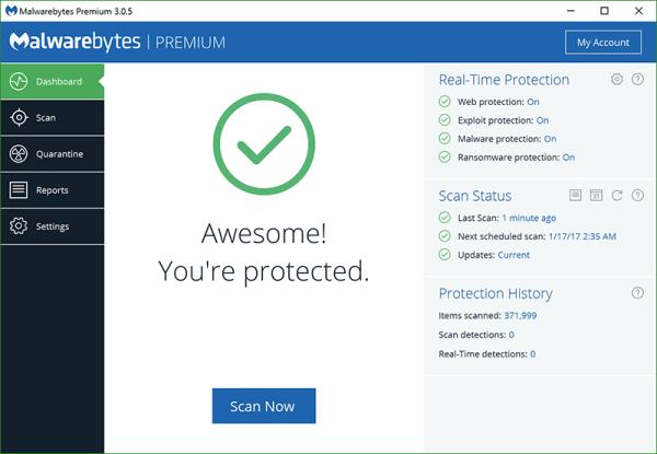 Malwarebytes Premium 3.7.1.2839 With Crack Free Download