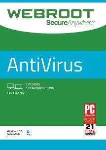Webroot Secureanywhere Antivirus Cover