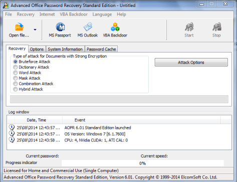 Advanced Office Password Recovery 6.37 Serial Key 2020 Latest