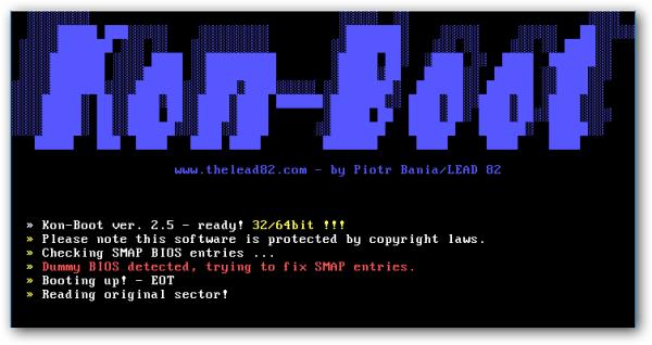 Kon-Boot 3.1 Crack Full Key Latest Version 2021 Download