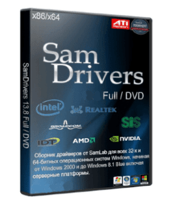 SamDrivers ISO Crack 21.1 Offline Driver Pack Solution Free Download 2021