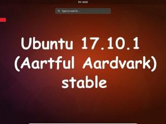 Ubuntu 17.10.1 Final Full Cover