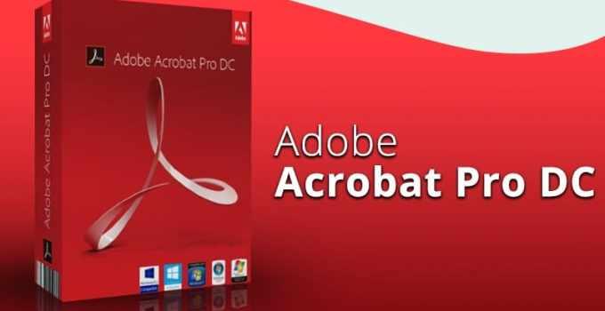 Adobe Acrobat Pro DC Crack 2020 Full Version Free Download