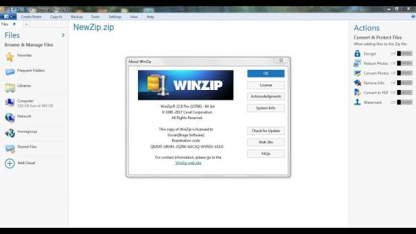 WinZip Crack 25 with Activation Code + Registration Code 2021