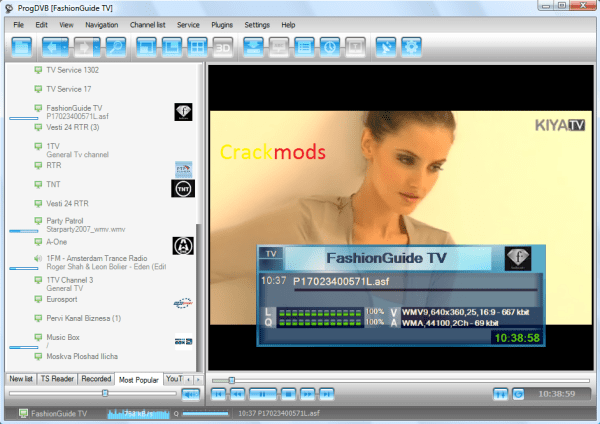 ProgDVB Professional 7.35.9 Crack + Keygen Free Download 2021