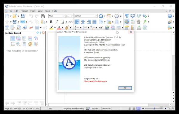 Atlantis Word Processor 4.1.2 Crack with Serial Key Latest Version 2021