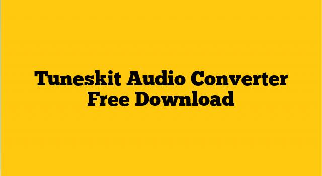 TunesKit Audio Converter Crack