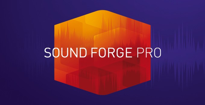 MAGIX SOUND FORGE Pro 15.0.0.46 Crack + Key Latest Version 2021
