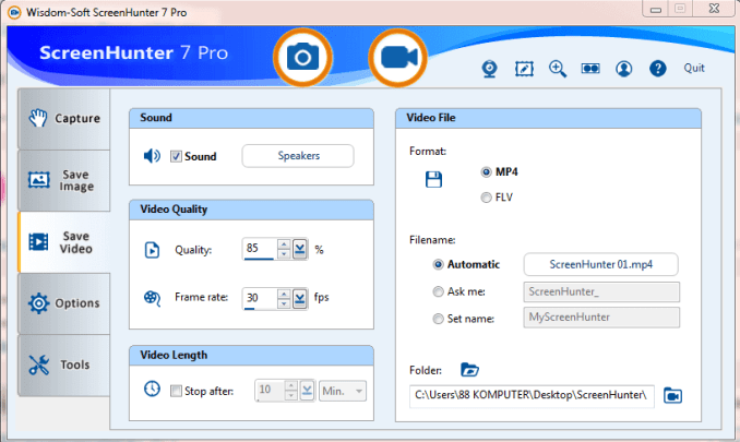 ScreenHunter Pro 7.0.1237 Crack With License Key full version download