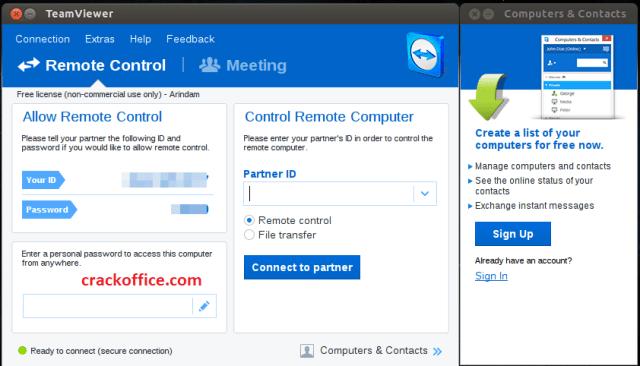 TeamViewer 15.5.6 Crack + License Key 2020 Free Download