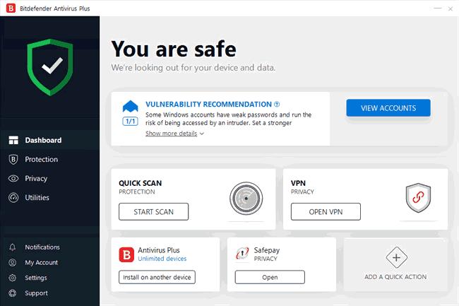 Bitdefender Total Security Crack 2019 with Serial Key