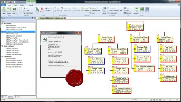 WBS Schedule Pro 5.1.0025 Crack + Serial Key (Windows)