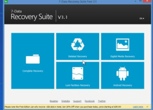 7-Data Recovery Suite 4.4 Crack + Serial Key For Free [Latest]