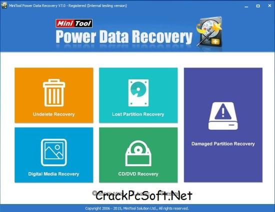 MiniTool Power Data Recovery 7.5 Crack