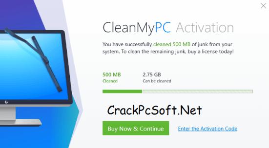 CleanMyPC Activation Code 2018