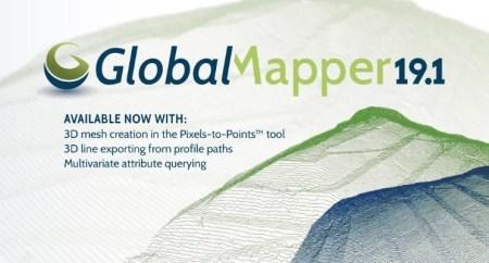 Global Mapper 19.1 Full Crack