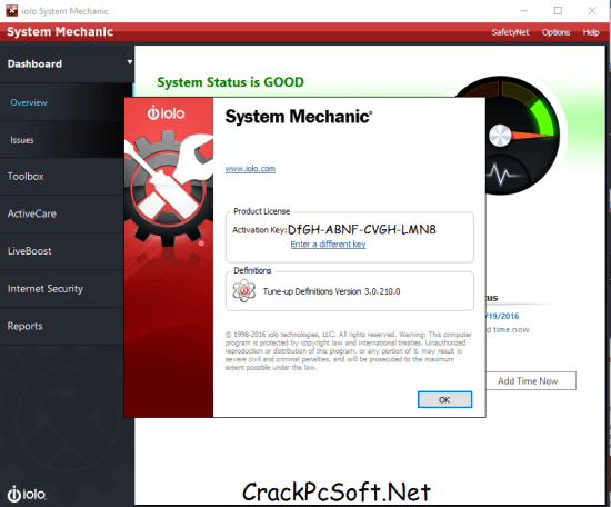 free system mechanic download with activation key