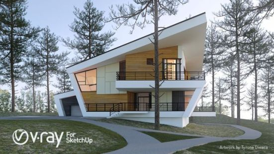 Vray 3.6 for SketchUp 2018 Crack + License Key Full Download