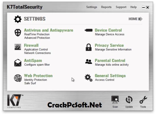 K7 Total Security 2018 Crack