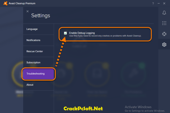 Avast Cleanup 2018 License Key