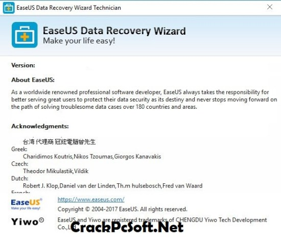 Easeus Data Recovery Wizard Crack