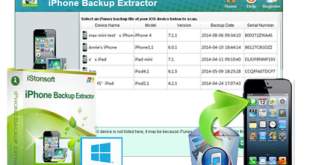 iPhone Backup Extractor 7.6.2 Crack