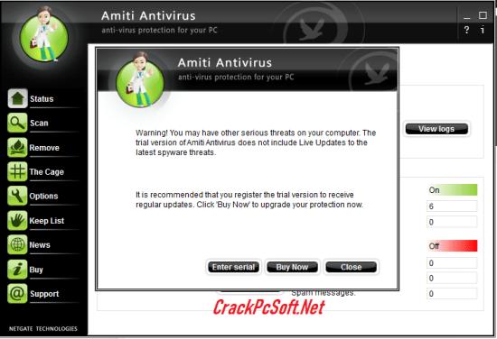 Netgate Amiti Antivirus Key