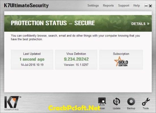 K7 Total Security 2019 Serial Key