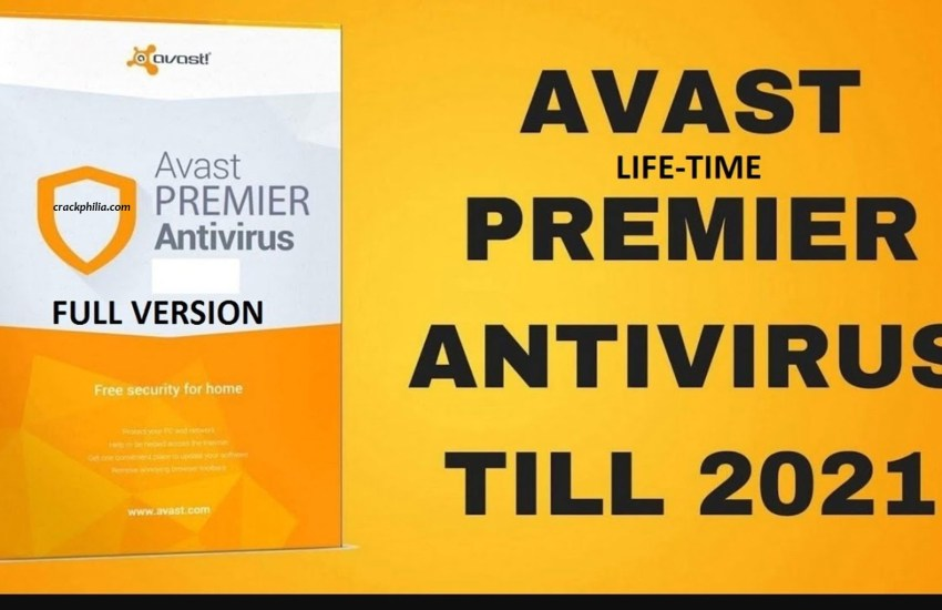 Avast Premier 2021 Crack Plus License Key Latest Version Download