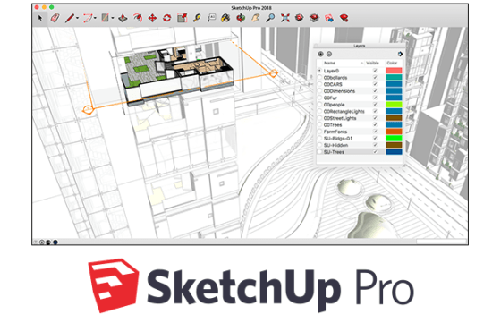 SketchUp Pro 21.0.339 Crack + License Key Free Download 2021