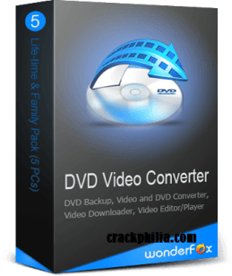 WonderFox DVD Video Converter 21.1 Crack + License Key Download