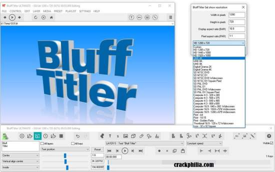 BluffTitler 15.0.0.5 Crack With Serial Key Free Download 2021