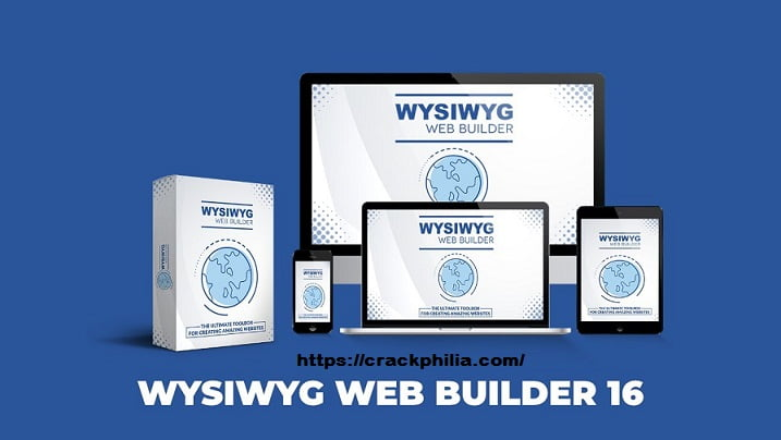 WYSIWYG Web Builder 16.0.4 Crack Plus Serial Number [Latest] Free Download