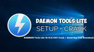 DAEMON Tools Lite 10.14.0.1567 Crack + Serial Key Free Download