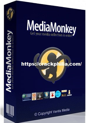 MediaMonkey Gold 5.0.0.2288 Crack + Serial Key Free Download