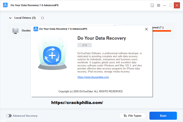 Do Your Data Recovery Pro 8.6 Crack With License Key Download 2021