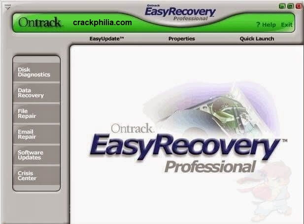 EasyRecovery Professional 15.0 Crack + Activation Key Free Download